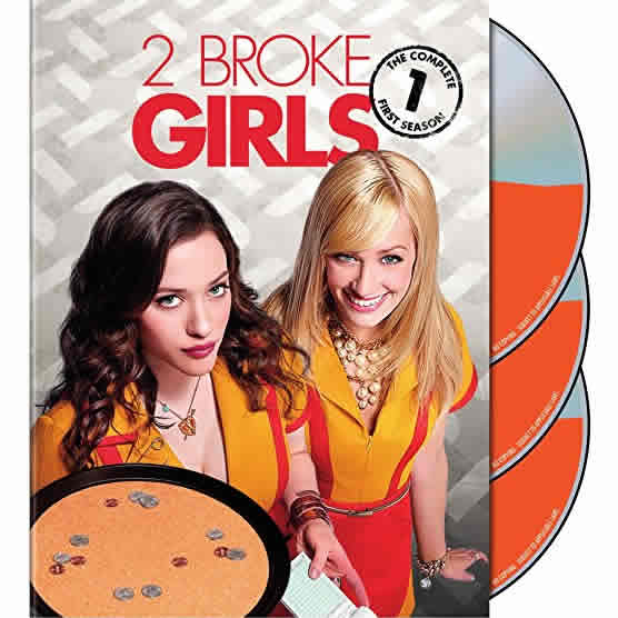 2 Broke Girls - The Complete Season 1 DVD (for NZ Buyers)