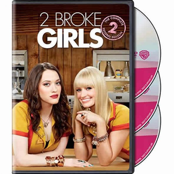 2 Broke Girls - The Complete Season 2 DVD (for NZ Buyers)
