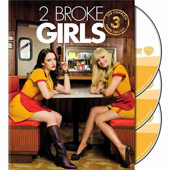 2 Broke Girls - The Complete Season 3 DVD (for NZ Buyers)