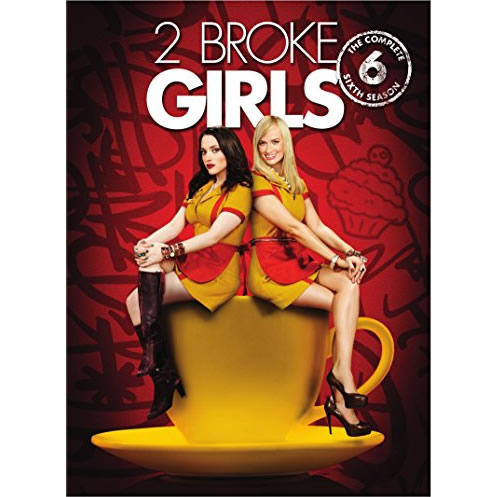 2 Broke Girls - The Complete Season 6 DVD (for NZ Buyers)