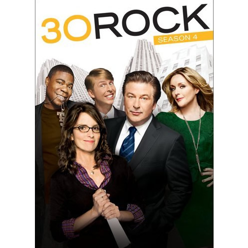 30 Rock - The Complete Season 4 DVD (for NZ Buyers)