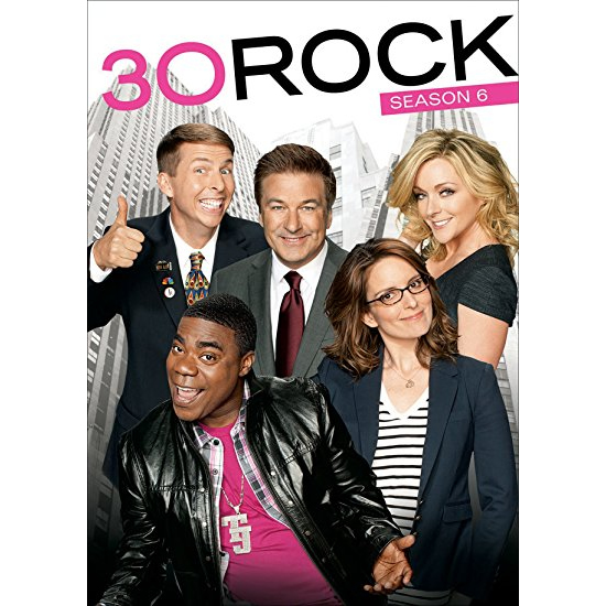 30 Rock - The Complete Season 6 DVD (for NZ Buyers)