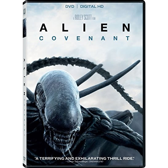 Alien: Covenant DVD (for NZ Buyers)
