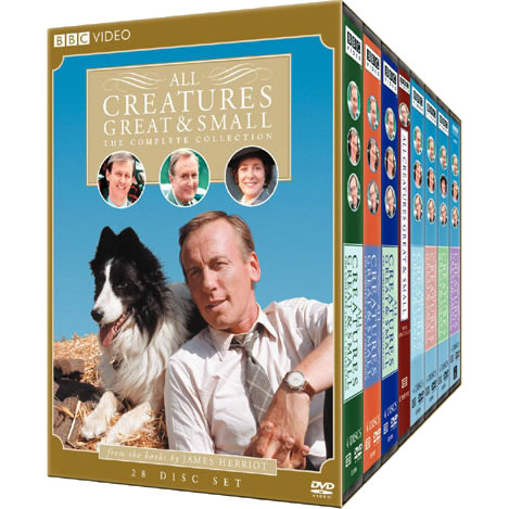 All Creatures Great and Small - The Complete Series (for NZ Buyers)