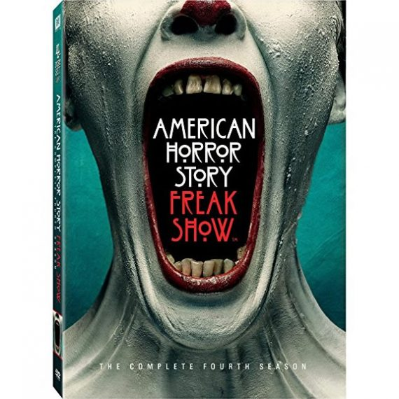 American Horror Story: Freak Show - The Complete Season 4 DVD (for NZ Buyers)