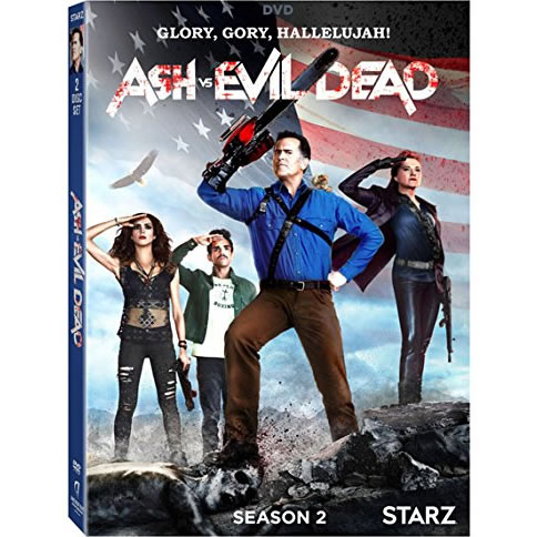 Ash Vs Evil Dead - The Complete Season 2 DVD (for NZ Buyers)