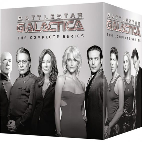 Battlestar Galactica - The Complete Series (for NZ Buyers)