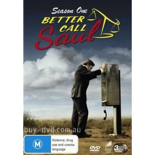 Better Call Saul - The Complete Season 1 DVD (for NZ Buyers)