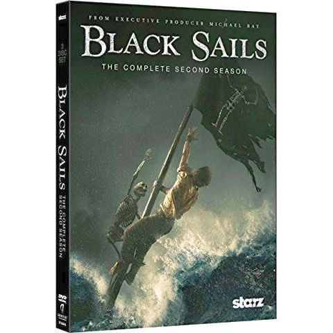 Black Sails - The Complete Season 2 DVD (for NZ Buyers)