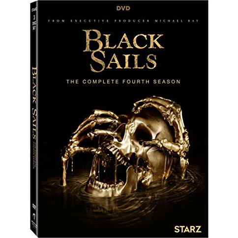 Black Sails - The Complete Season 4 DVD (for NZ Buyers)
