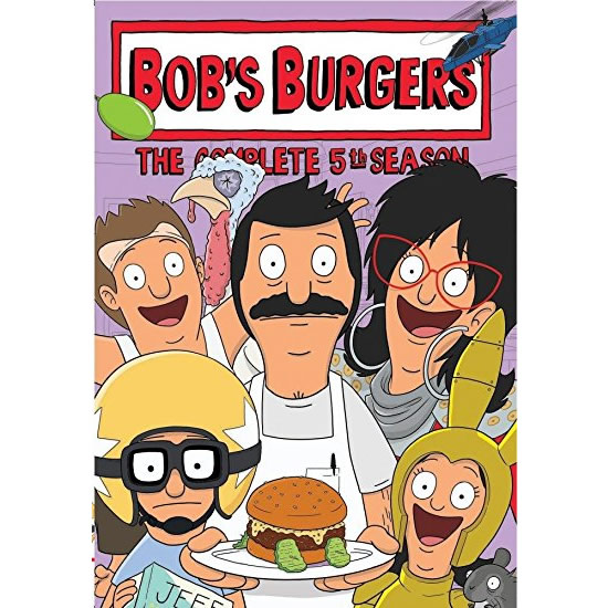 Bob's Burgers - The Complete Season 5 DVD (for NZ Buyers)