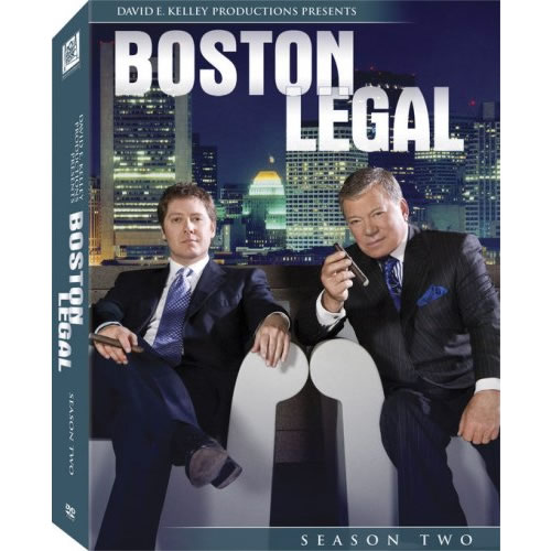 Boston Legal - The Complete Season 2 DVD (for NZ Buyers)
