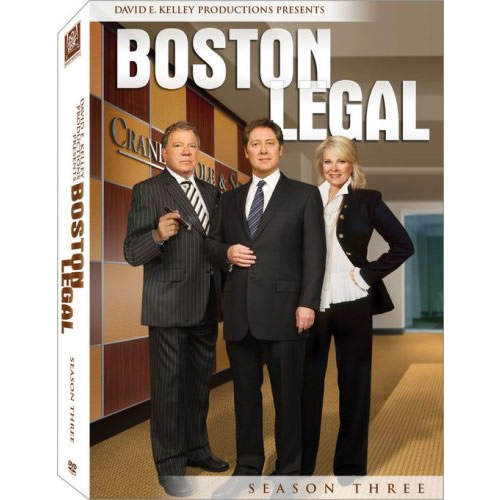 Boston Legal - The Complete Season 3 DVD (for NZ Buyers)