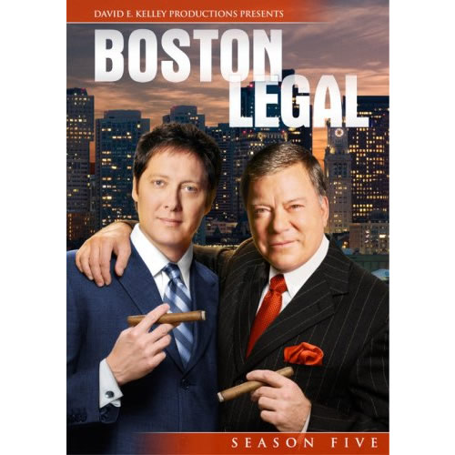 Boston Legal - The Complete Season 5 DVD (for NZ Buyers)