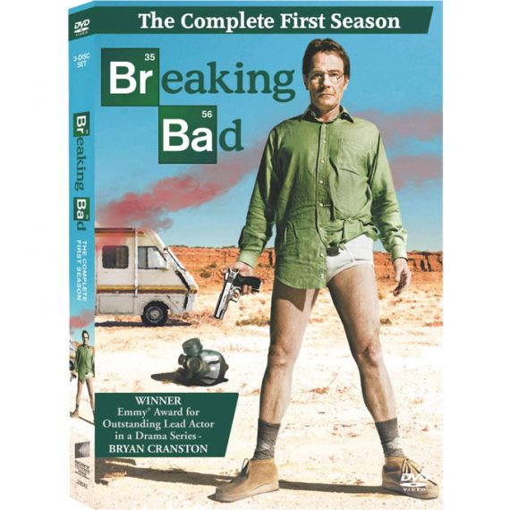 Breaking Bad - The Complete Season 1 DVD (for NZ Buyers)
