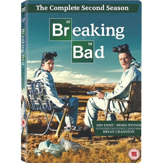 Breaking Bad - The Complete Season 2 DVD (for NZ Buyers)