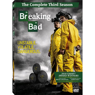 Breaking Bad - The Complete Season 3 DVD (for NZ Buyers)