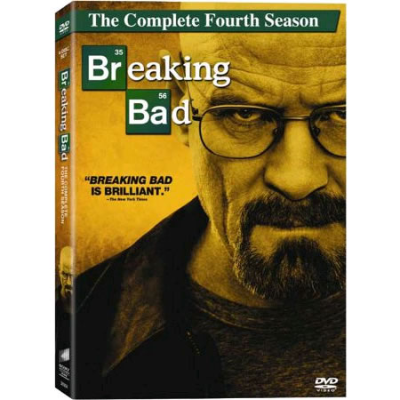 Breaking Bad - The Complete Season 4 DVD (for NZ Buyers)