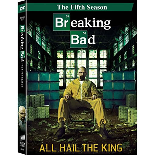 Breaking Bad - The Complete Season 5 DVD (for NZ Buyers)