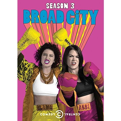 Broad City - The Complete Season 3 DVD (for NZ Buyers)