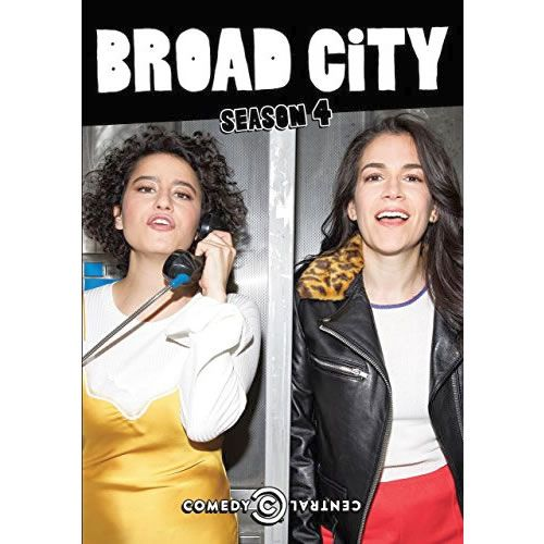 Broad City - The Complete Season 4 DVD (for NZ Buyers)