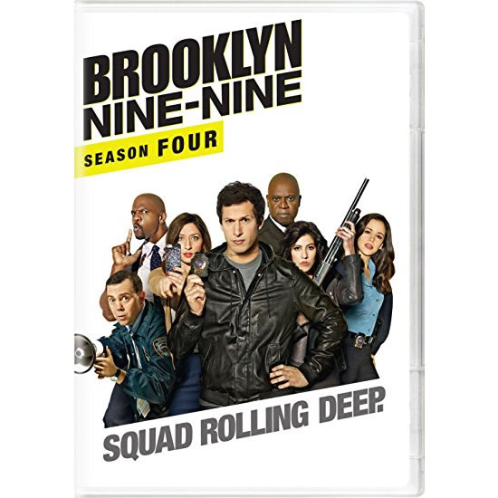 Brooklyn Nine-Nine - The Complete Season 4 DVD (for NZ Buyers)