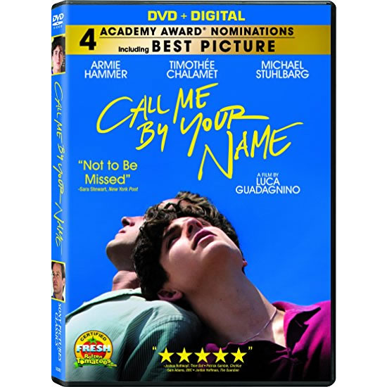 Call Me by Your Name DVD (for NZ Buyers)