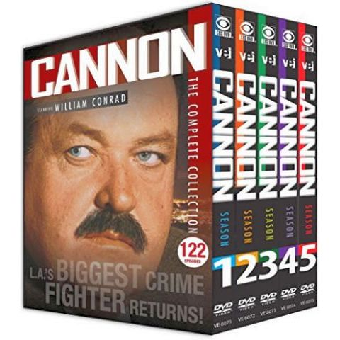 Cannon - The Complete Series (for NZ Buyers)
