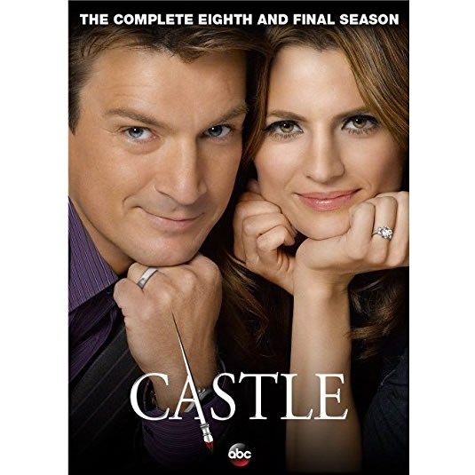 Castle - The Complete Season 8 DVD (for NZ Buyers)