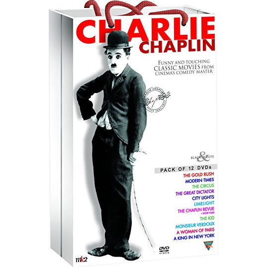 Charlie Chaplin Classic Collection DVD (for NZ Buyers)
