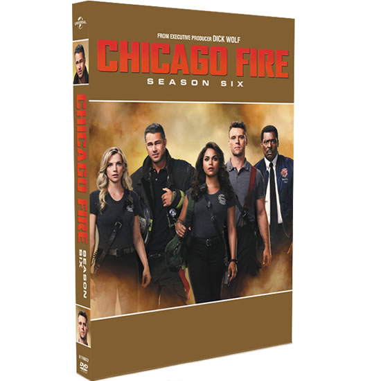 Chicago Fire - The Complete Season 6 DVD (for NZ Buyers)