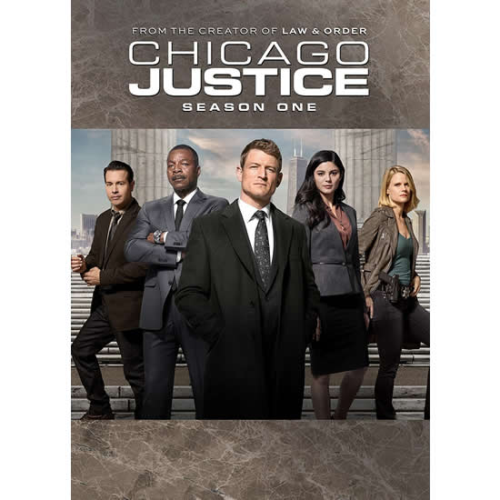 Chicago Justice - The Complete Season 1 DVD (for NZ Buyers)