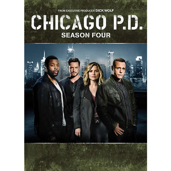 Chicago PD - The Complete Season 4 DVD (for NZ Buyers)