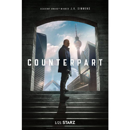 Counterpart - The Complete Season 1 DVD (for NZ Buyers)