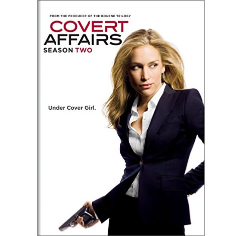 Covert Affairs - The Complete Season 2 DVD (for NZ Buyers)