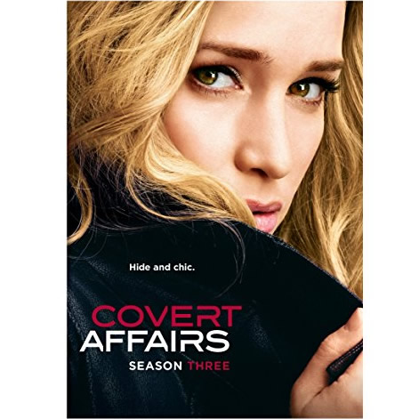 Covert Affairs - The Complete Season 3 DVD (for NZ Buyers)