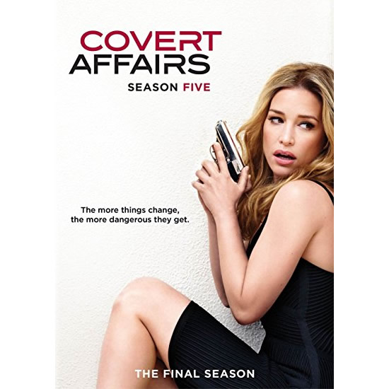 Covert Affairs - The Complete Season 5 DVD (for NZ Buyers)