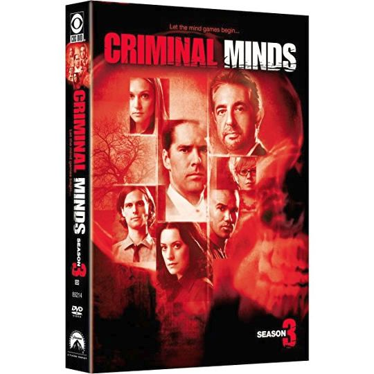 Criminal Minds - The Complete Season 3 DVD (for NZ Buyers)