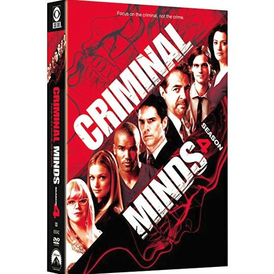 Criminal Minds - The Complete Season 4 DVD (for NZ Buyers)
