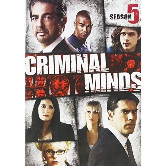 Criminal Minds - The Complete Season 5 DVD (for NZ Buyers)