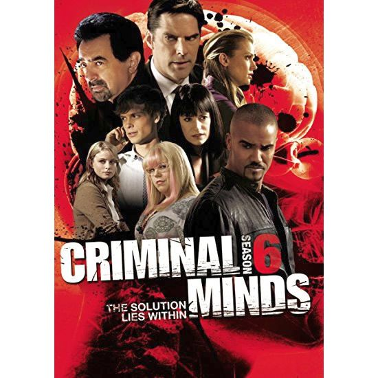 Criminal Minds - The Complete Season 6 DVD (for NZ Buyers)