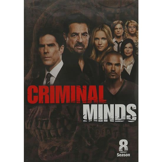 Criminal Minds - The Complete Season 8 DVD (for NZ Buyers)