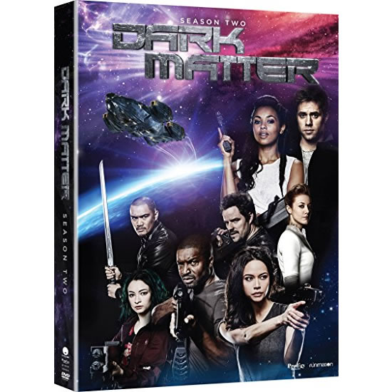 Dark Matter - The Complete Season 2 DVD (for NZ Buyers)