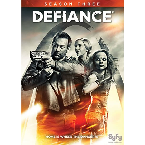 Defiance - The Complete Season 3 DVD (for NZ Buyers)