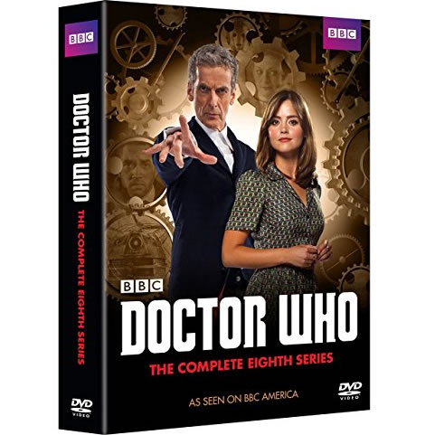 Doctor Who - The Complete Season 8 DVD (for NZ Buyers)