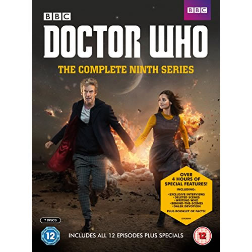 Doctor Who - The Complete Season 9 DVD (for NZ Buyers)