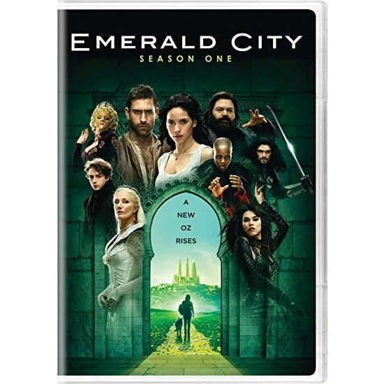 Emerald City - The Complete Season 1 DVD (for NZ Buyers)