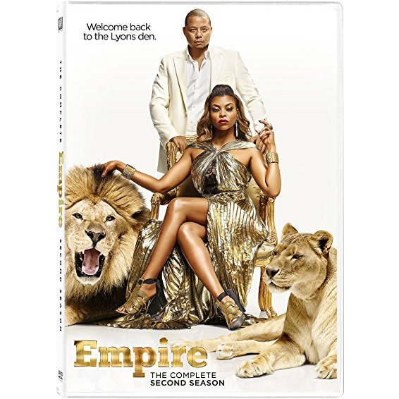 Empire - The Complete Season 2 DVD (for NZ Buyers)