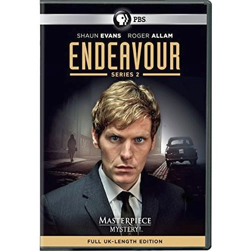 Endeavour - The Complete Season 2 DVD (for NZ Buyers)