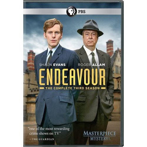 Endeavour - The Complete Season 3 DVD (for NZ Buyers)